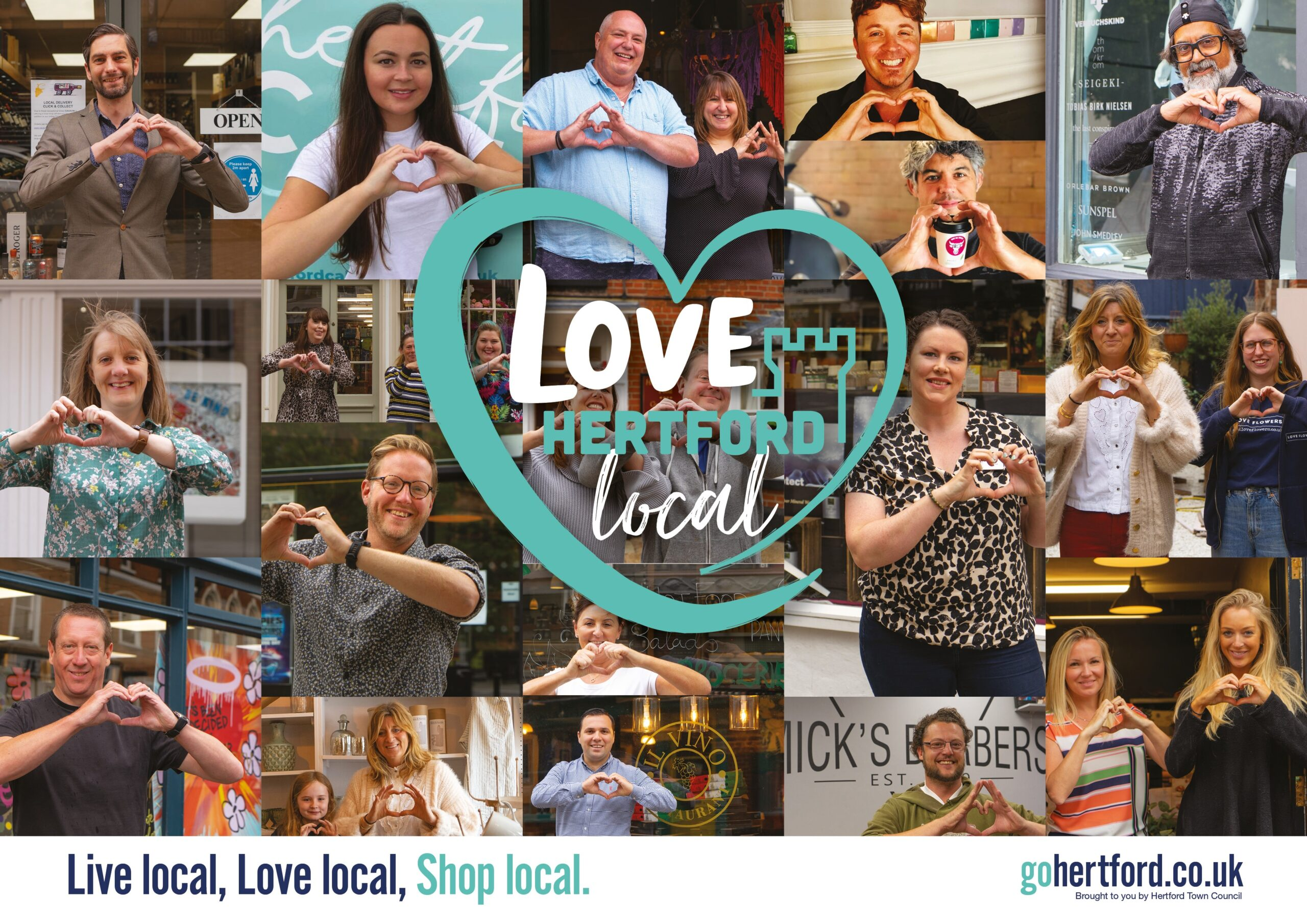 Love Hertford Local Shopping Campaign Launch